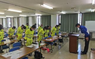 2021年7月度 安全大会(飯田営業所)